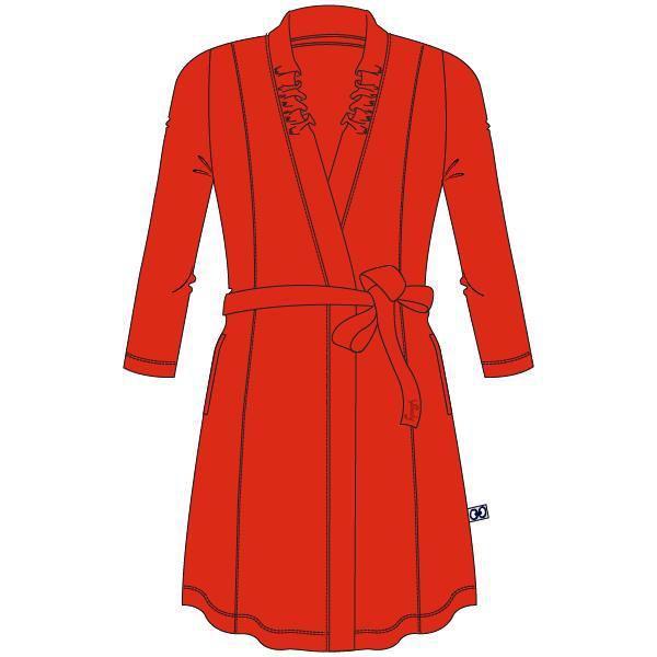 Woody Dames Kamerjas - BRIGHT RED